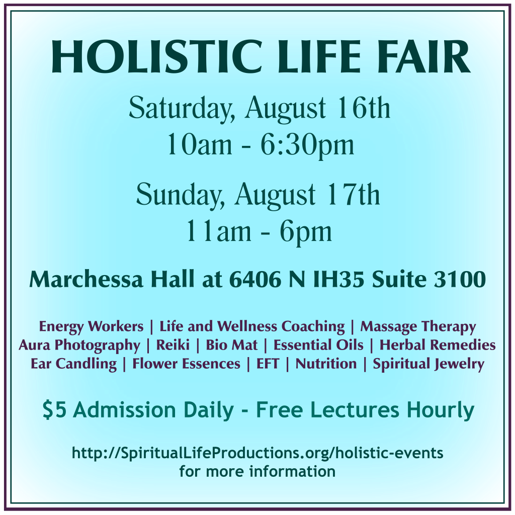Holistic Life Fair - Spiritual Life Productions