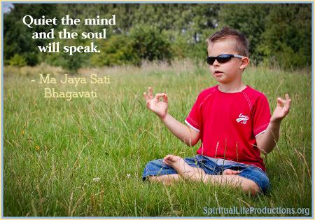 Meditation - Spiritual Life Productions - Austin Texas