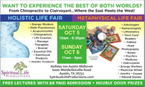 Austin Metaphysical and Holistic Life Expo - October 2019