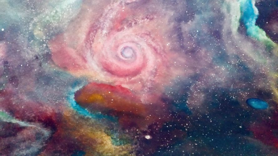 Cosmos Art by Mia Loweree